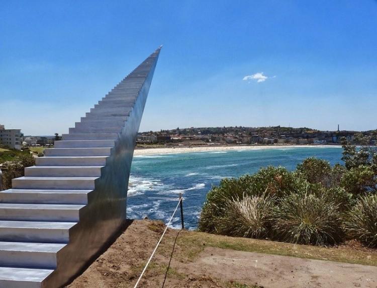 Niekończące się schody do nieba, David McCracken, Bondi, Australia