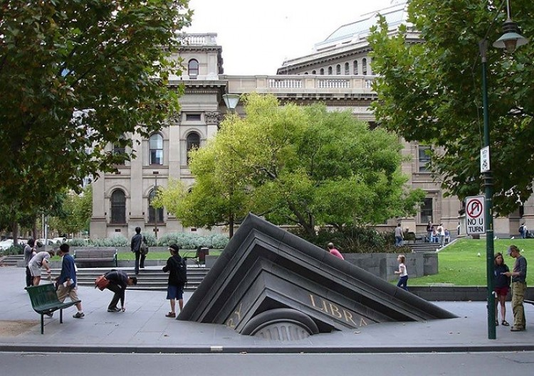 Zatopiona biblioteka, Melbourne