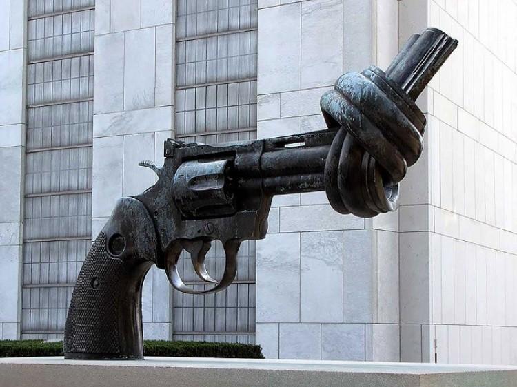 Jesteśmy przeciwko przemocy, New York, Stany Zjednoczone