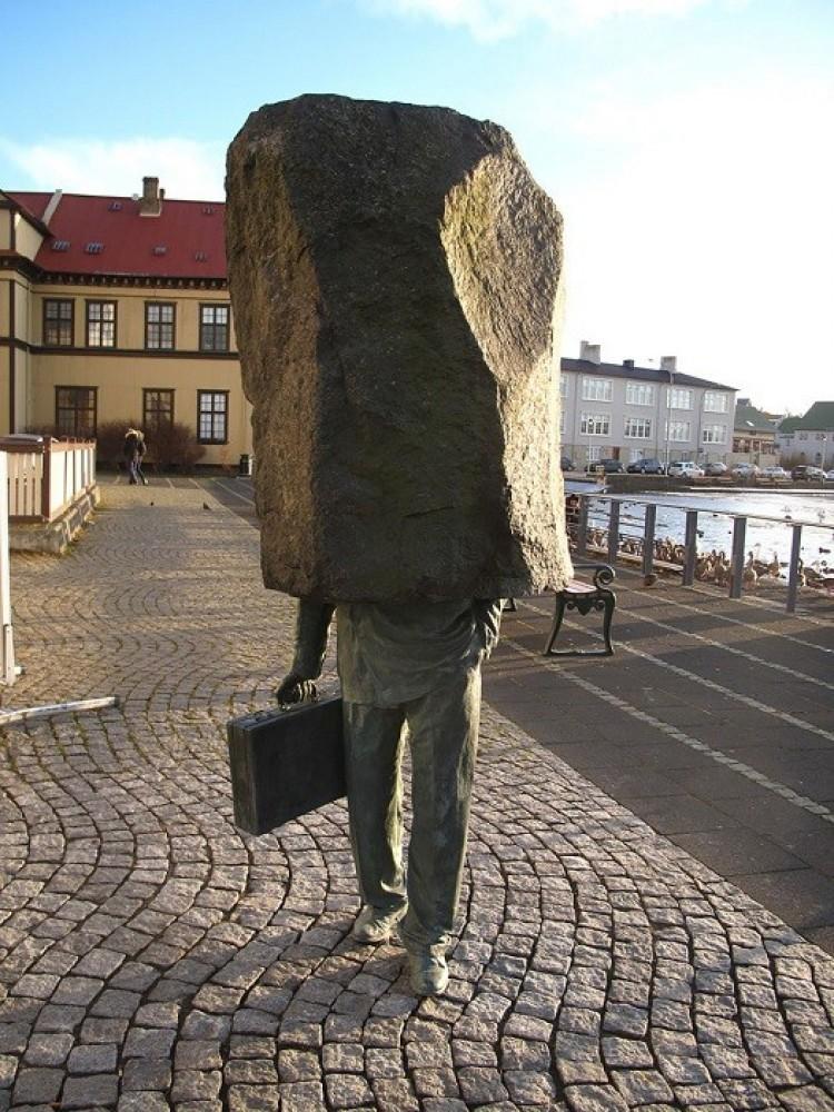 Nieznany urzędnik, Reykjavik, Islandia