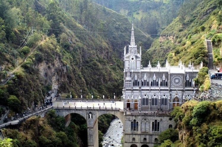 Las Lajas Cathedral w Ipyalese