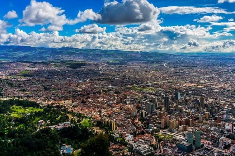 Bogota - miasto kontrastów