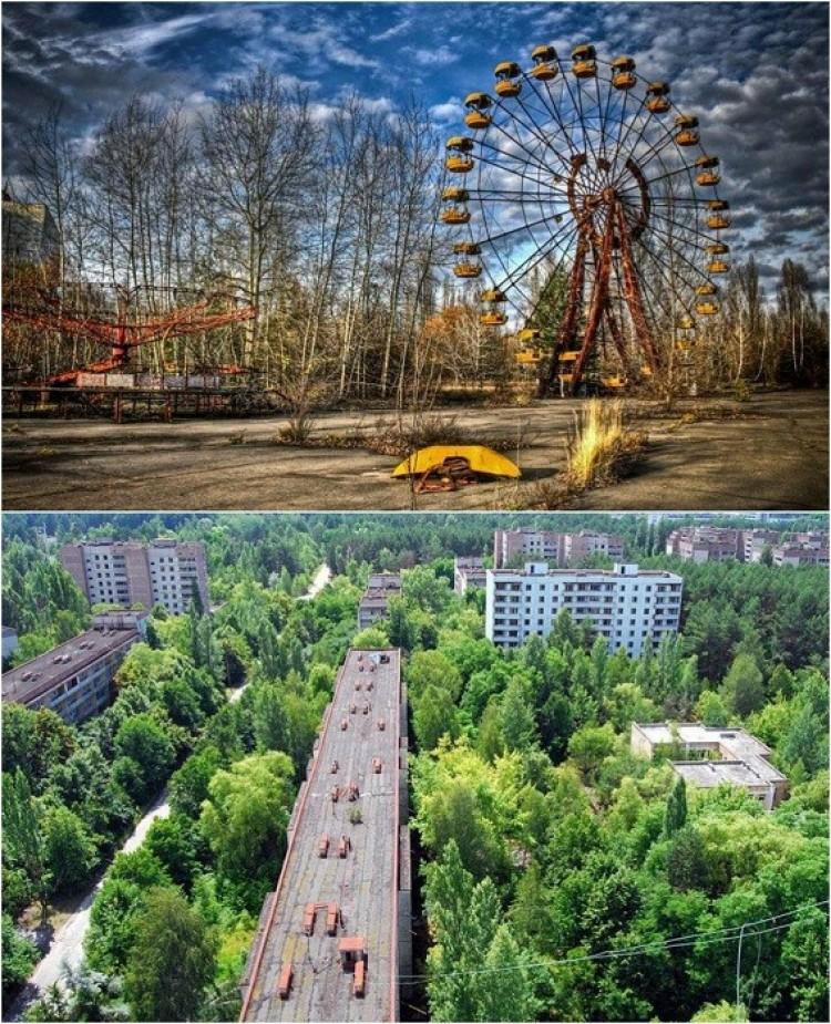 Opuszczone miasto Prypeć, Ukraina