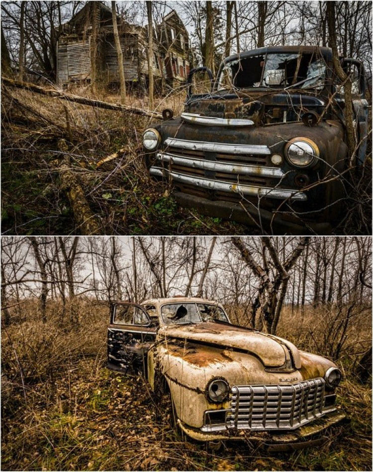 Porzucona farma - Seneca Lake, Nowy Jork