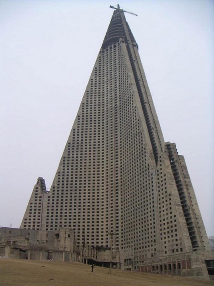 ügen Hotel w Pyongyang, Korea Północna