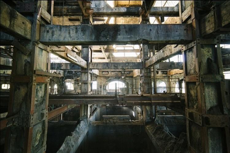Opuszczona elektrowni węglowej, Francja