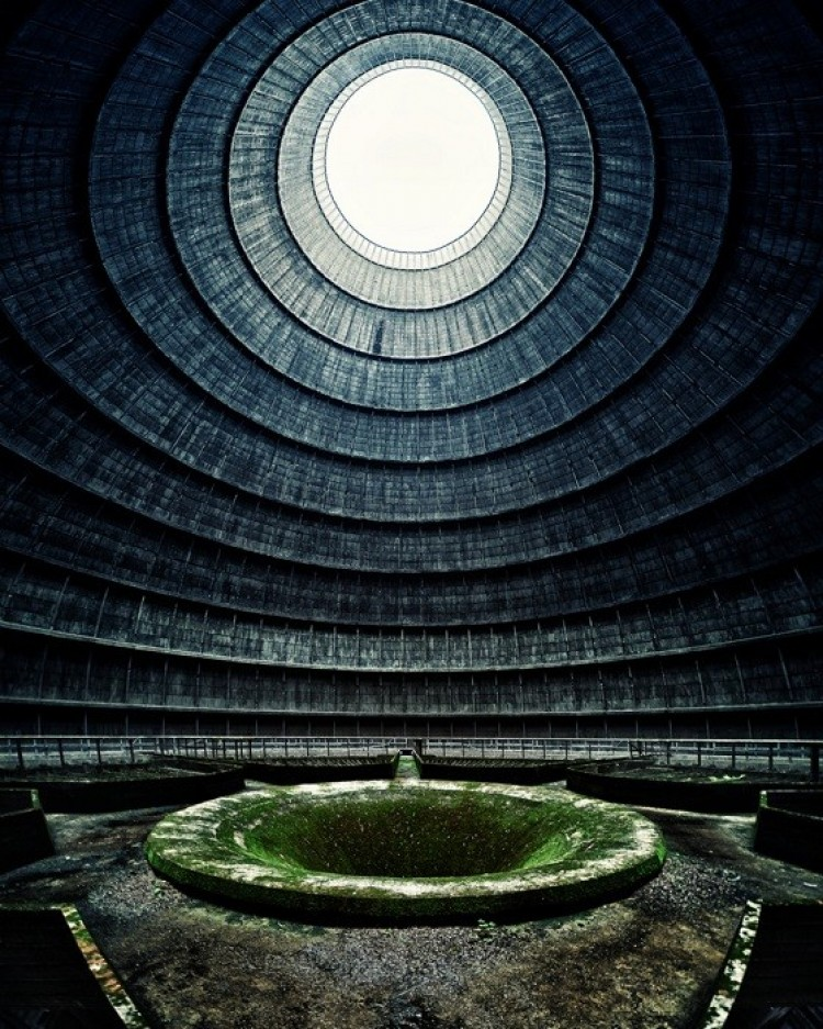Opuszczona elektrownia w Mons, Belgia