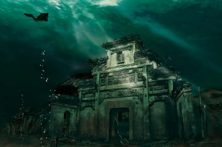 Zaginione miasto w Shichen, Chiny