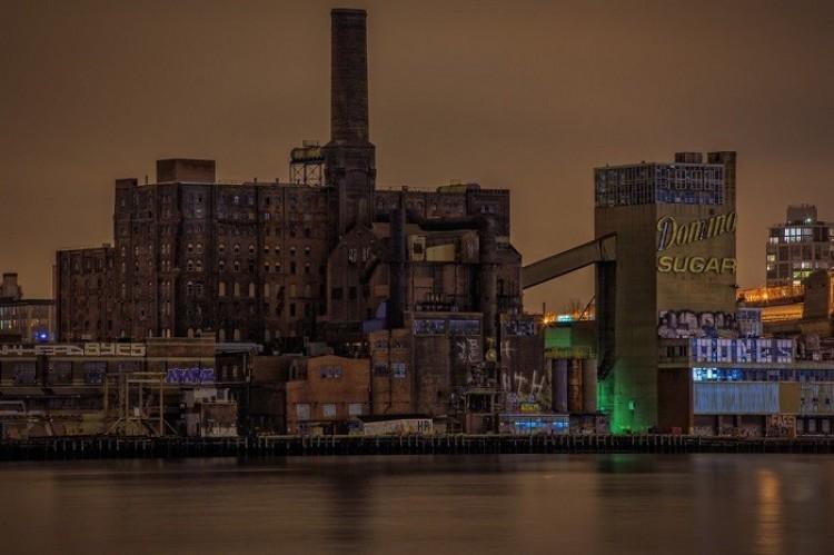 Opuszczona fabryka cukru