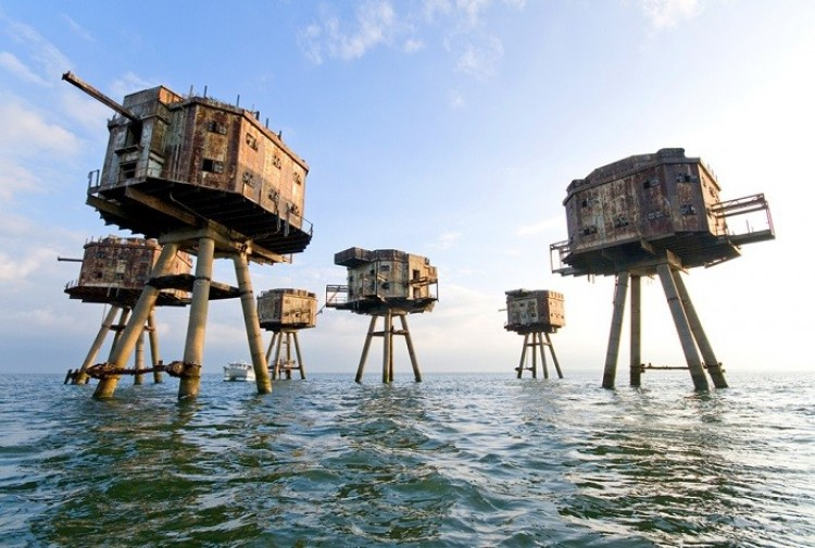 Maunsell morskie forty, UK