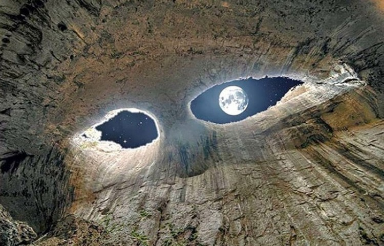 Oko księżyca.