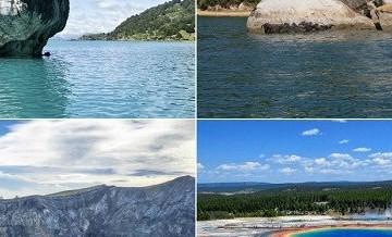 Wspaniałe miejsca na Ziemi, w istnienie których trudno uwierzyć.