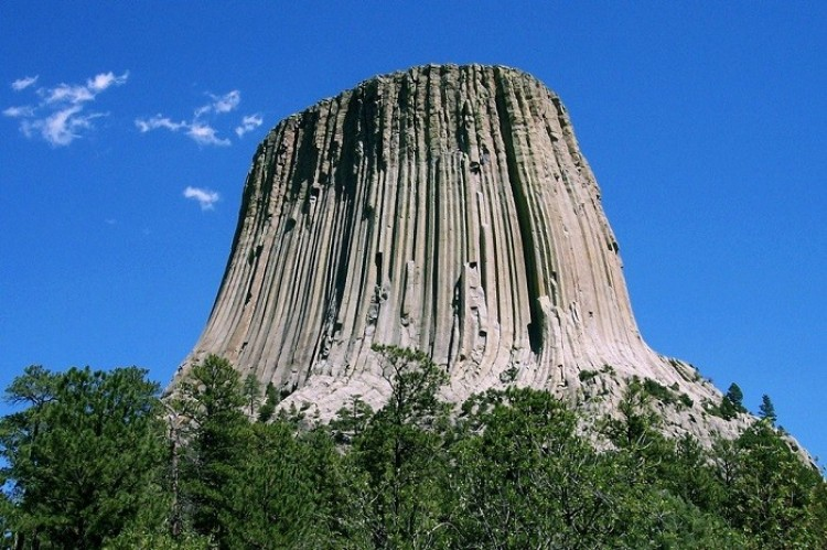 Devils Tower, Wyoming, USA.