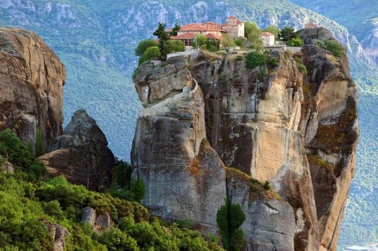Meteora, Tesalia, Grecja.