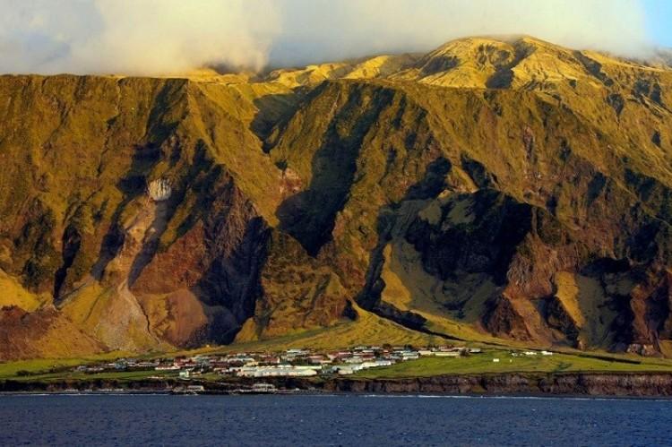 Archipelag Tristan da Cunha, Ocean Atlantycki.