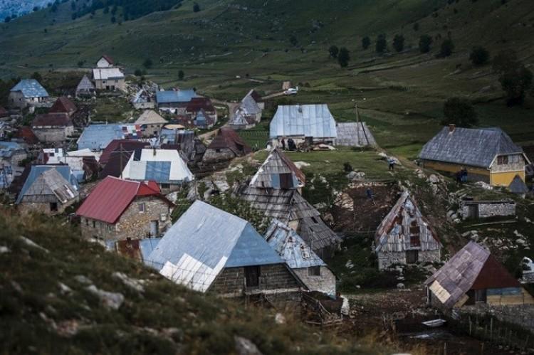 Wioska Lukomir, Konic, Bośnia i Hercegowina.