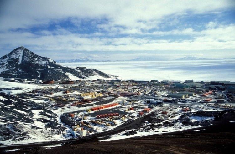 Stacja McMurdo, Antarktyda.