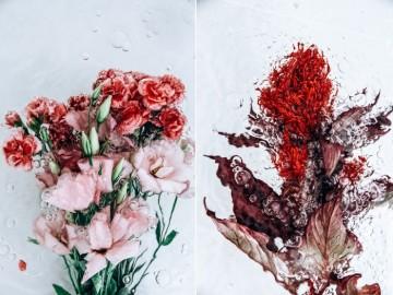 Tlen. Motywy kwiatowe. Autor Lisa Sorgini.
