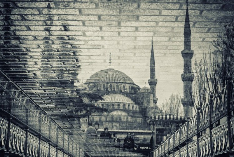 Niebieski Meczet w Stambule, Turcja.