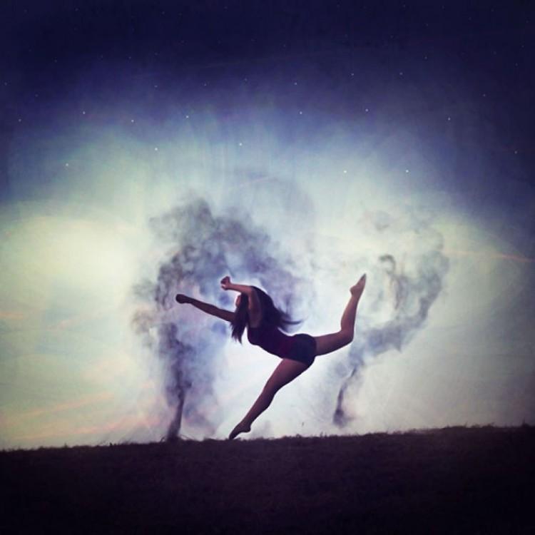 Taniec cieni.
