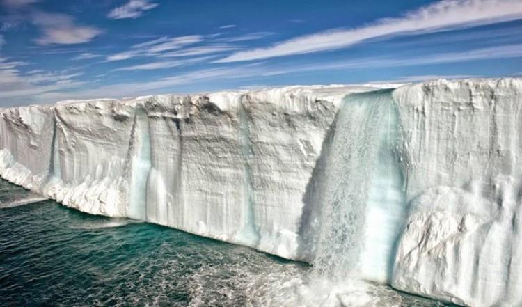 Północno-wschodnie wybrzeże, Svalbard, Norwegia.