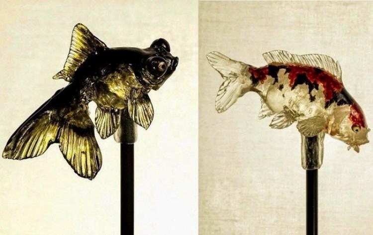 Rybki jak z akwarium: hiper-realistyczne lizaki.