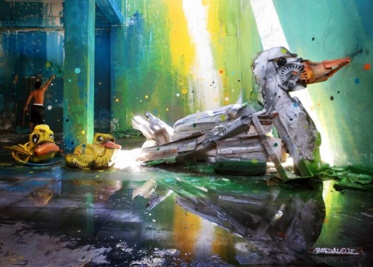 Czy śmiecie mogą być sztuką?