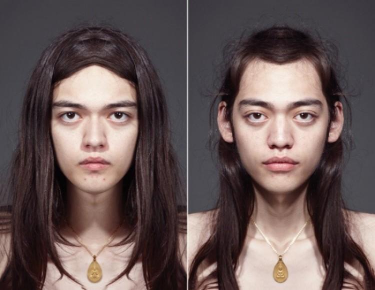 Piękno i niepowtarzalność asymetrii, czyli jakby wyglądały absolutnie symetryczne twarze ludzi.
