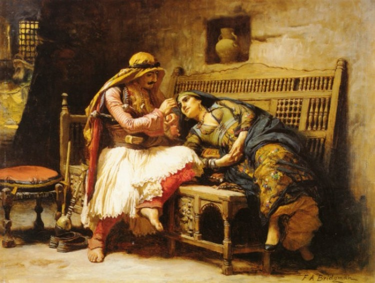 Queen of Thieves, Frederick Arthur Bridgman.