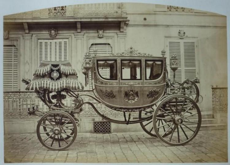 Cesarz Brazylii Pedro II jechał nią na uroczystość koronacji .