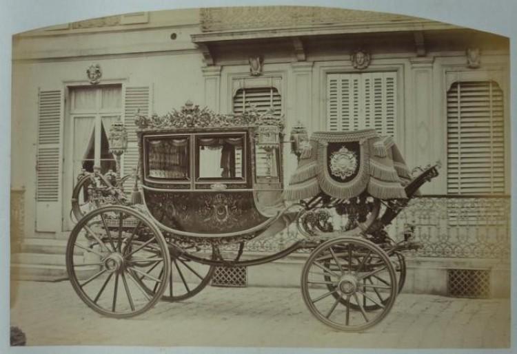 Dorożka tureckiego sułtana Abdul-Aziz z 1867 roku.