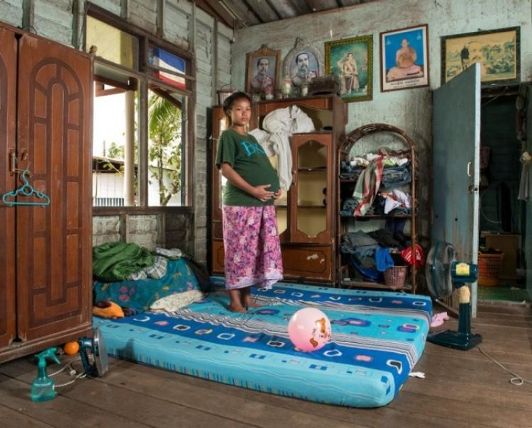 Aime, 19 lat, wyspa Ko Kret, Tajlandia