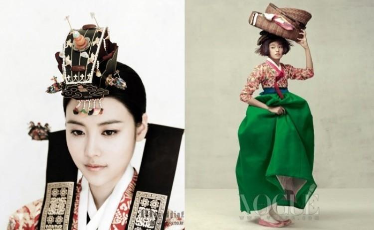 Motywy azjatyckie: seria znakomitych zdjęć z Vogue.