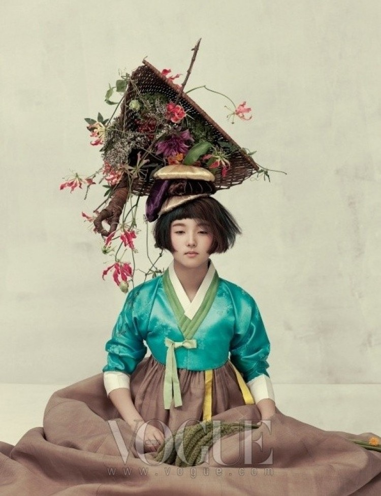 Zmysłowość. Korea Vogue.