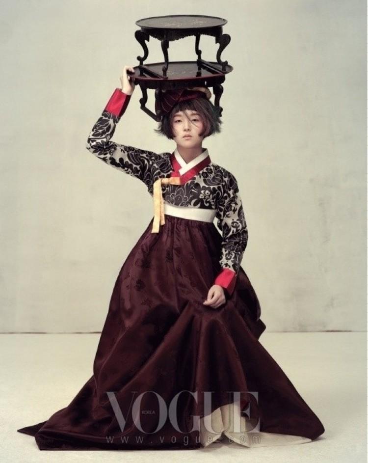 Lekkość. Korea Vogue.
