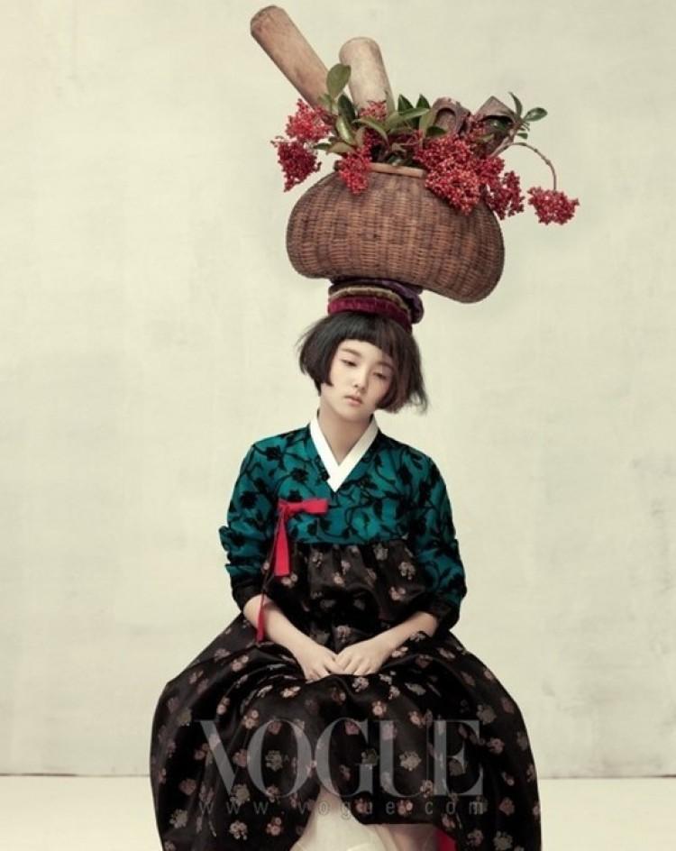 Azjatycka kruchość. Korea Vogue.