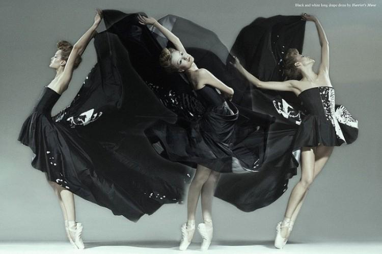 Czarne cienie tańczą. Jan Masny.
