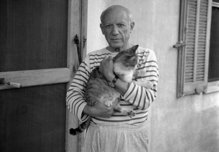 Picasso i jego kot