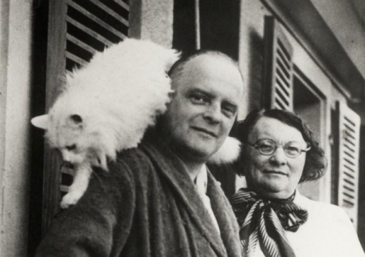 Paul Klee z kotem Bimbo