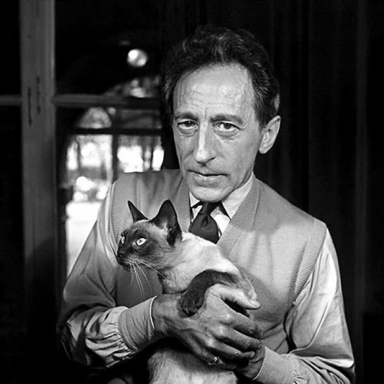 Jean Cocteau z Karunem