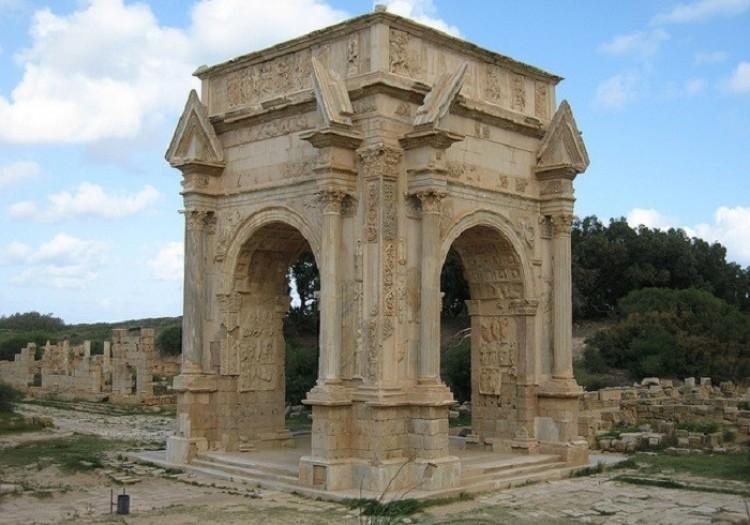 Łuk Septymiusza Sewera. Leptis Magna. Libia
