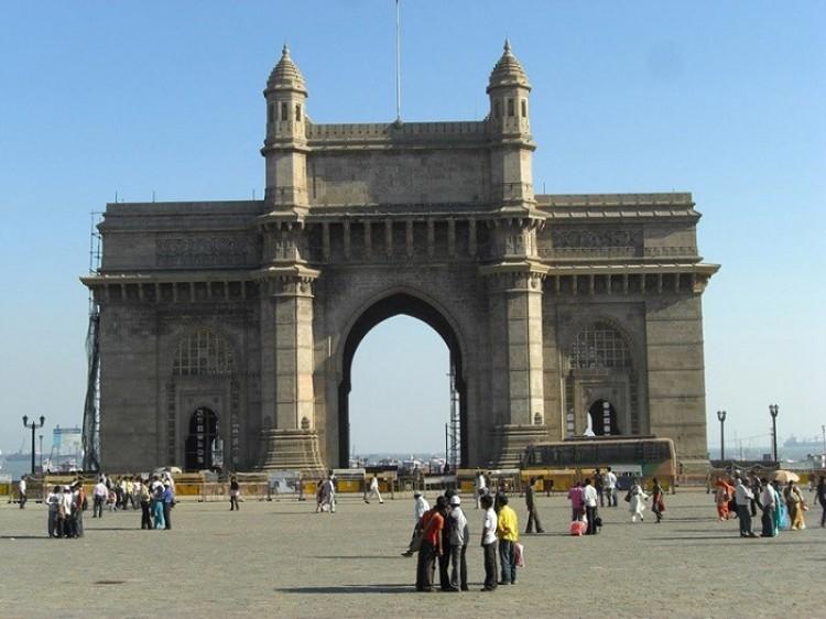 Bramy Indii. Bombaj. Indie