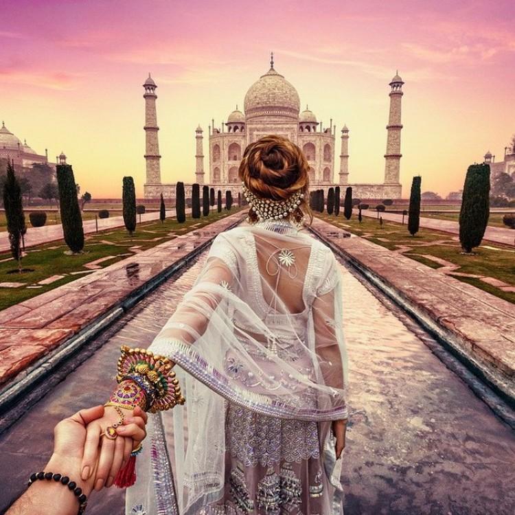 Miłość i Indie: romantyczne zdjęcia z fotoprojektu