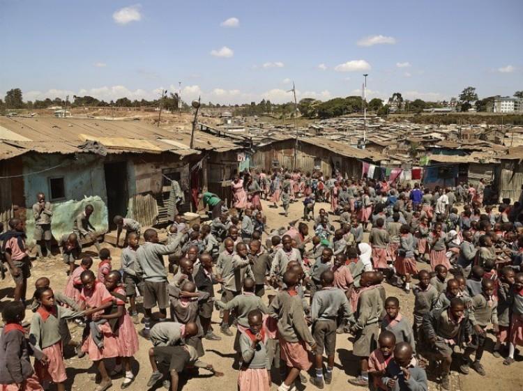 Szkoła w dolinie Matari w Nairobi, w Kenii.
