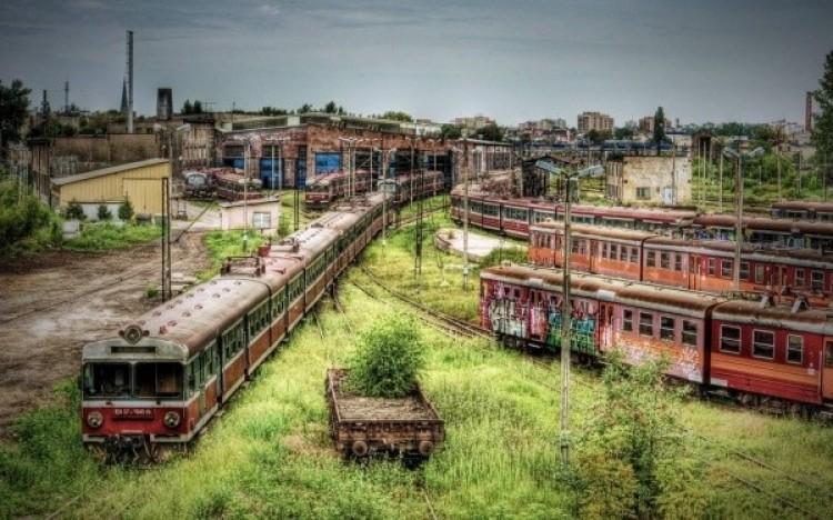 Opuszczony zajezdnia metra w Cincinnati