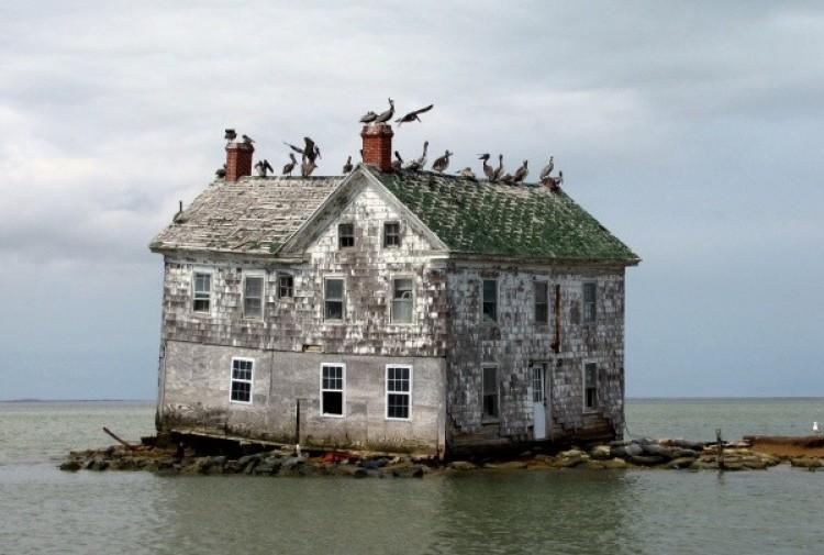 Holenderska wyspa w Zatoce Chesapeake