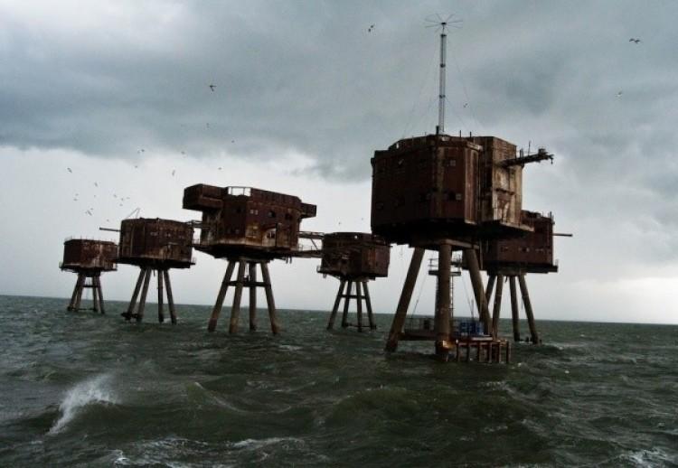 Forty Munsell wybrzeży Anglii