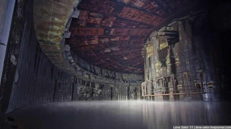 Opuszczona baza rakietowa na terytorium byłego ZSRR