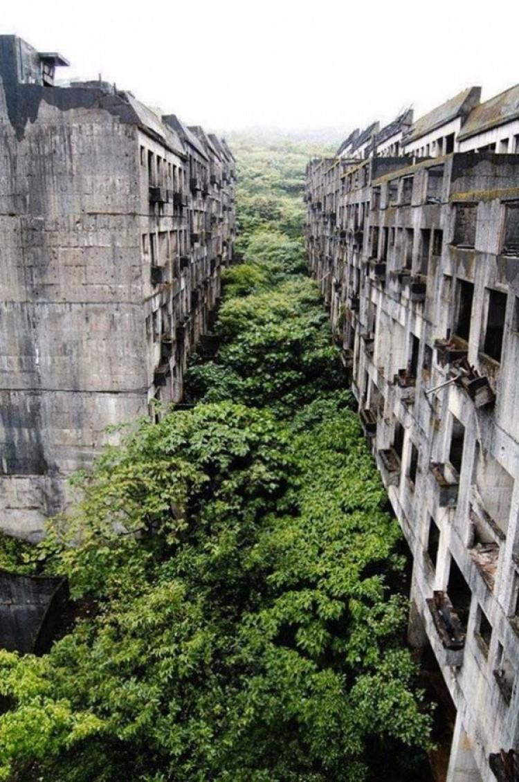 Opuszczone miasto Keelung, Tajwan