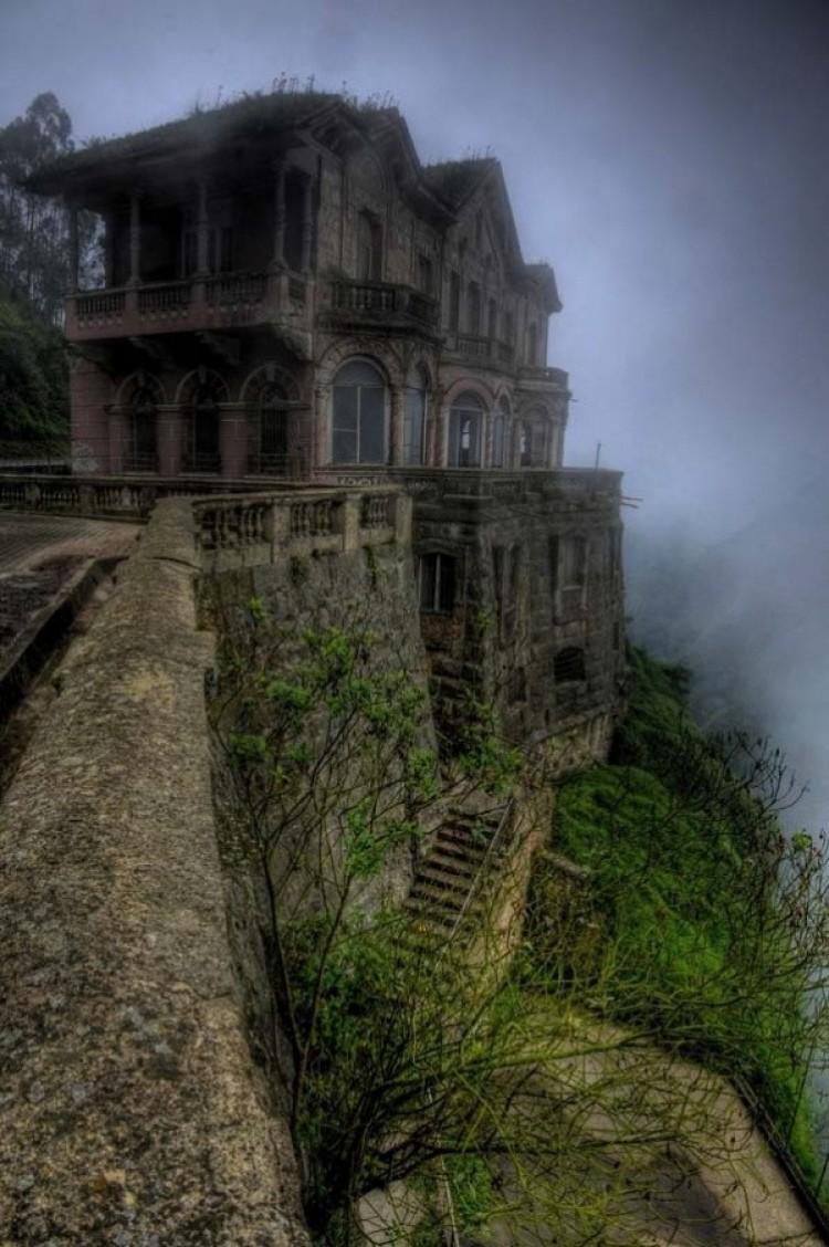 El Hotel del Salto w Kolumbii